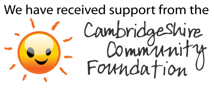 We have received support from the Cambridgeshire Community Foundation
