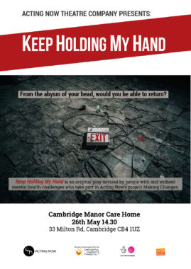 'Keep Holding my Hand' goes on tour to Care Homes across Cambridgeshire