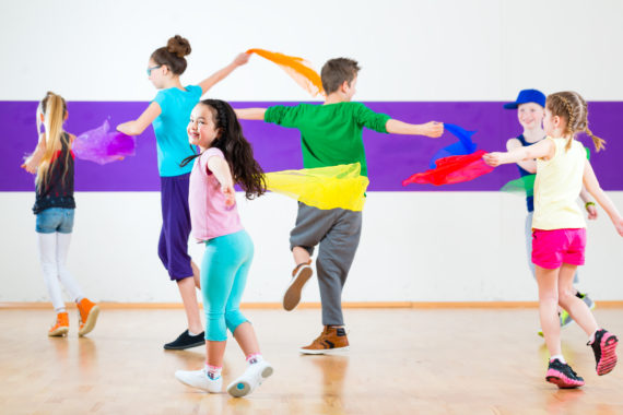 Physical Theatre Courses for kids