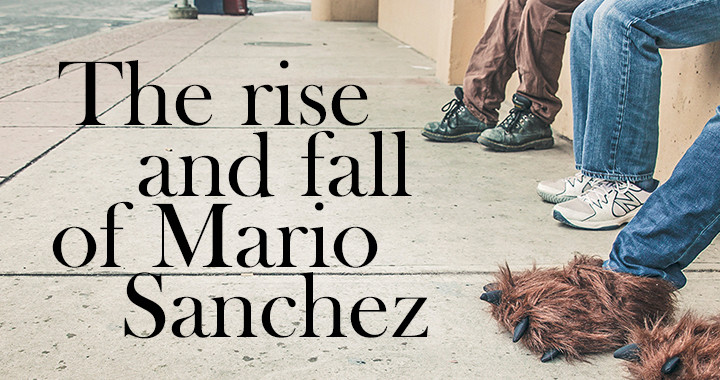 Poster for the Rise and Fall of Mario Sanchez