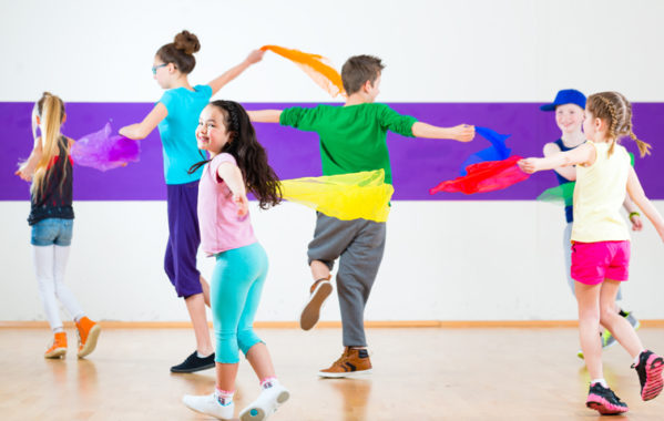Physical Theatre for Kids - Autumn term 2018